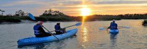 sunset-kayaking