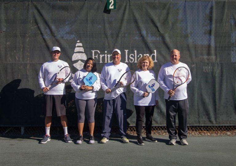 tennis staff