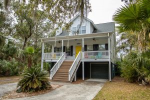 Front of 22 Fiddlers Point on Fripp Island