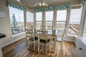 Fripp Island view from a vacation rental kitchen