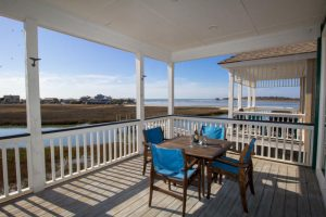 Fripp Island porch with a view